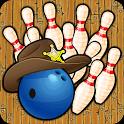 Bowling Western – Mit bis zu 4 Spielern auf einer alten Bretterbahn