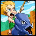 Caveman 2 – Cooles Jump&Run Spiel, das Dinos und Steinzeitmenschen zusammenbringt