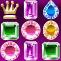 Diamond Crusher FREE – Ein Match-3 Spiel bei dem man nur 2 gleiche Diamanten benötigt