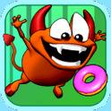 Down The Hatch! – Spiel mit Stinky der verfressenen Fledermaus