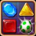 Dragon Gem – Klassisches Match-3 Spiel mit vielen besonderen Juwelen und Powerups