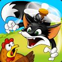 Flying Fox – Der schlaue Fuchs geht in diesem tollen Puzzle auf Hühnerjagd aus der Luft