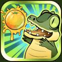 Fruit Krokodil – Über knifflige Puzzles gelangst du an die Früchte der kostenlosen App
