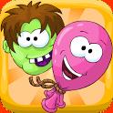 Helium Rush: Zombie Attacks – Gib den Zombies von oben was auf die Mütze