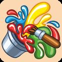 Lustiges Malbuch - ein lustiges Lernspiel mit Farben und Klängen für Kinder