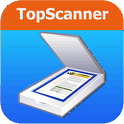 TopScanner - Scan photos, notes and receipts from camera,  create pdf document, share and print it