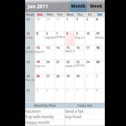 Keros Calendar & Planner Free – Gute Alternative zum Standardkalender