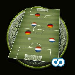 Pocket Soccer bietet dir eine Mischung aus Tischfußball und Airhockey