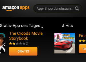 Heute gibt es diverse Apps im Amazon App-Shop gratis