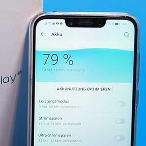Lösung: Huawei/Honor verdunkelt/dimmt automatisch das Display in einigen Apps