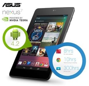 Nexus 7 mit 32GB heute bei iBood zum Schnäppchenpreis