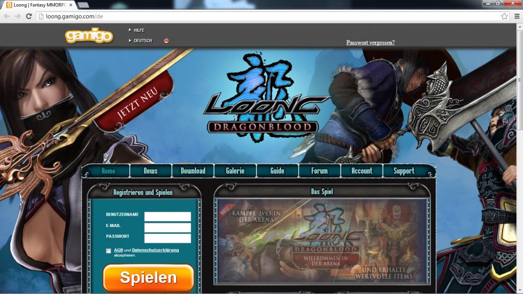 Ein kleiner Ausflug in die Welt der Online-Spiele von gamigo