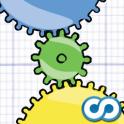 Geared ist eine super Puzzle-App mit 150 herausfordernden Leveln