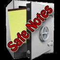 Safe Notes ist eine kleine Notiz-App mit 128bit Verschlüsselung